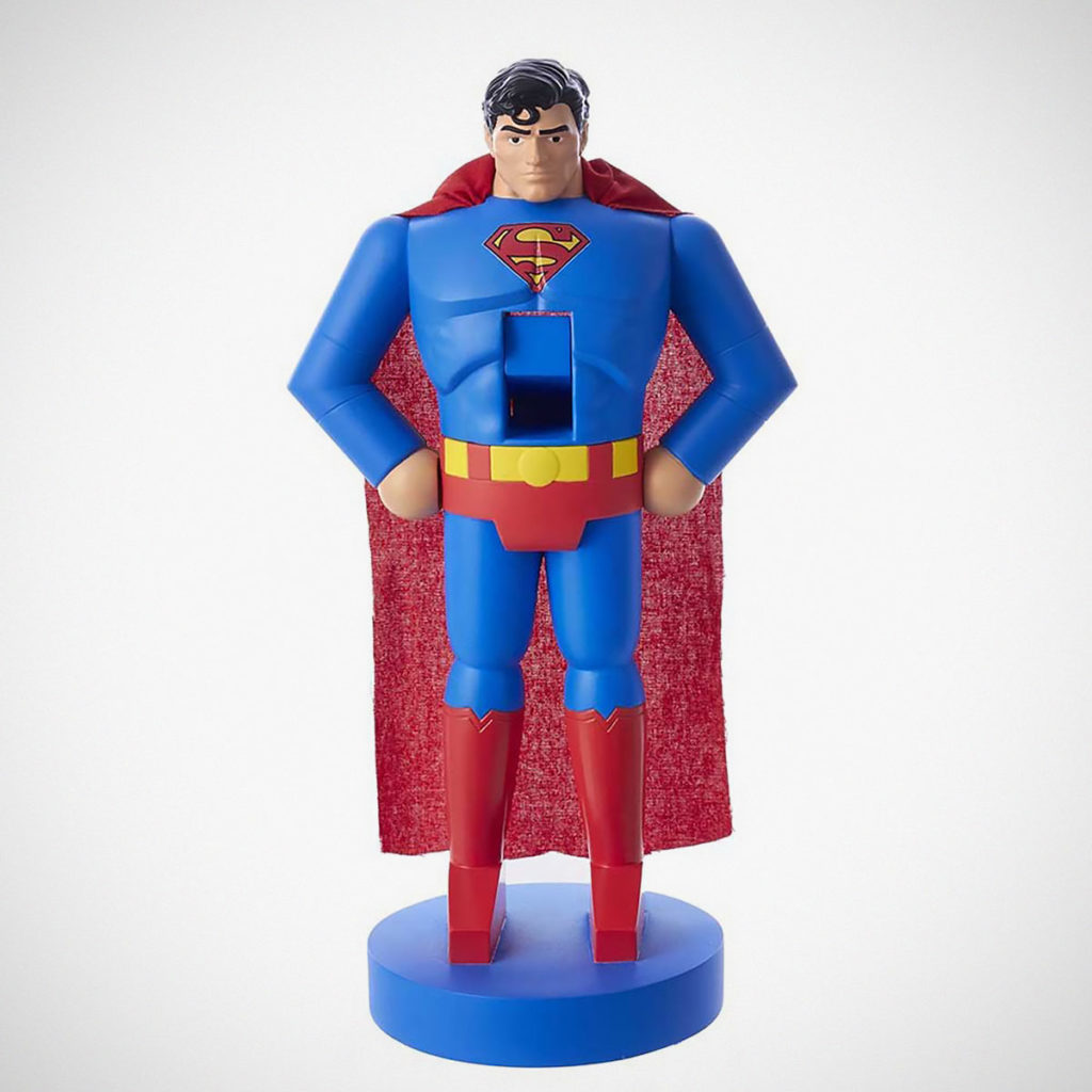 Kurt S. Adler 10-inch Superman Nutcracker