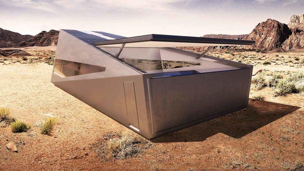 Lars Buro's Cybunker Cybertruck-inspired Bunker