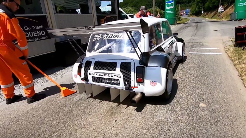 MINI Quattro Monster Hillclimb Race Car