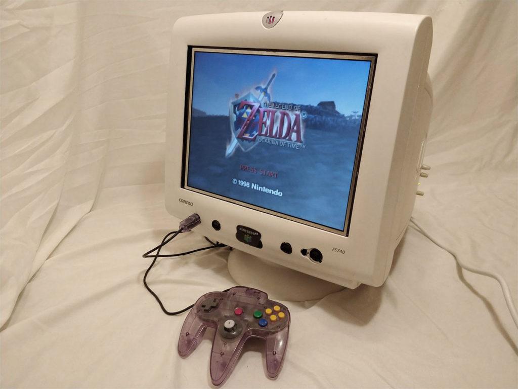 Monitor 64 Video Game Console by Mason Stooksbury