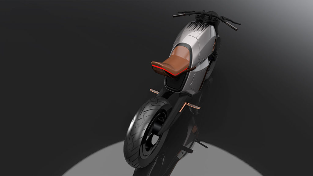 Nawa Racer Electric Motorcycle CES 2020