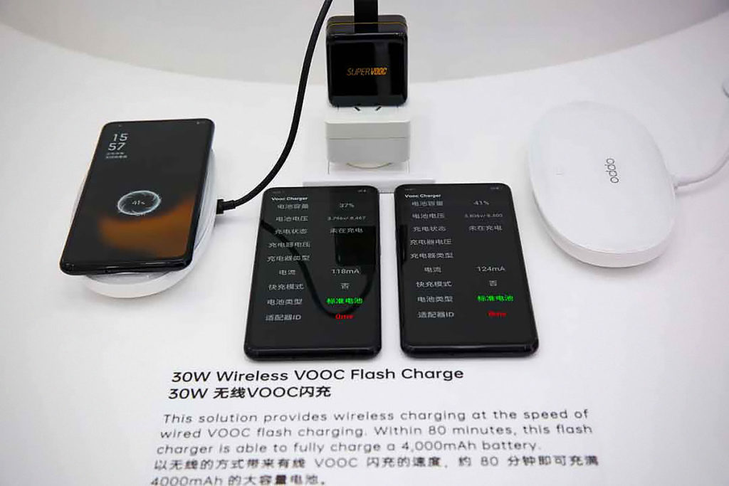 Oppo 30 W Wireless VOOC
