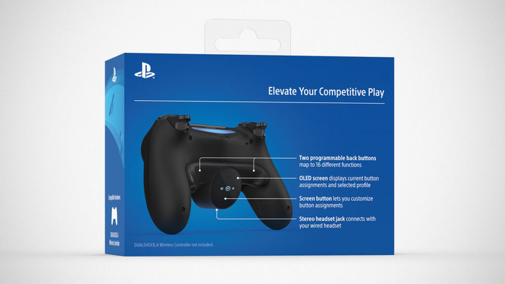 PlayStation DualShock 4 Back Button Attachment
