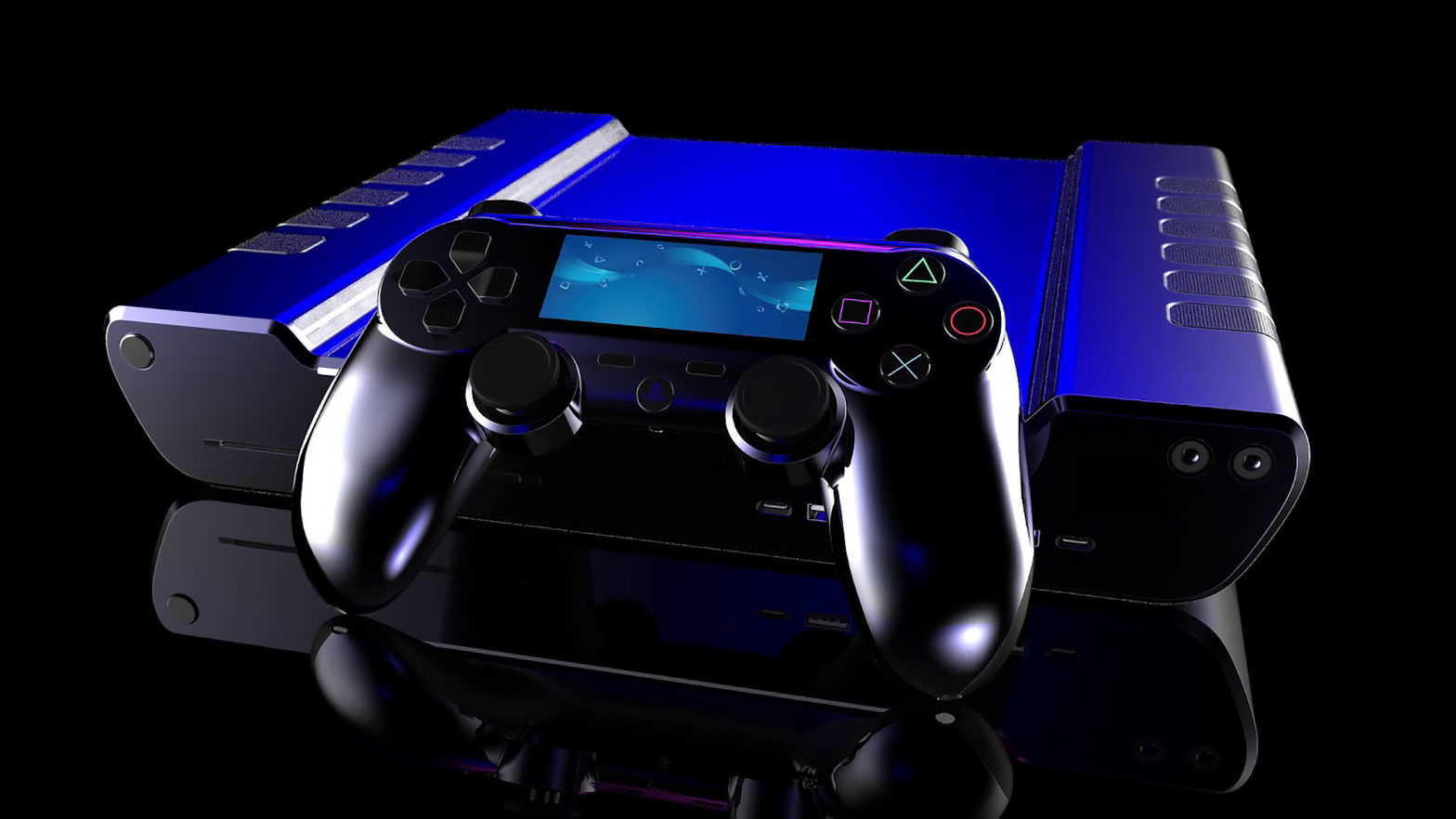 Playstation 5 Rendered by Concept Creator