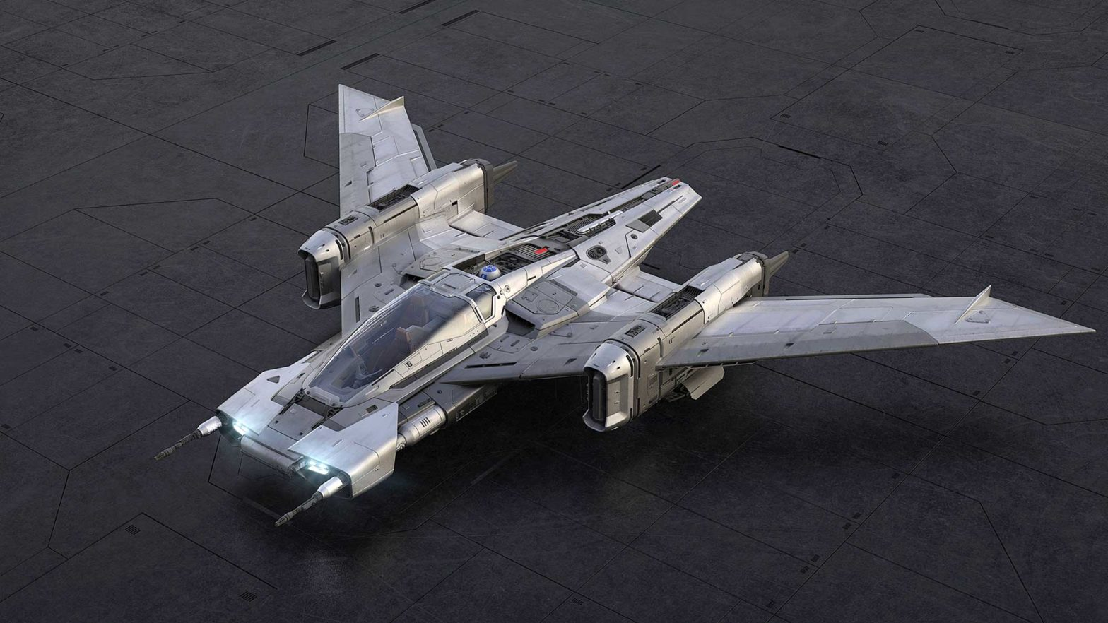Porsche x Lucasfilm Tri-Wing S-91x Pegasus Starfighter