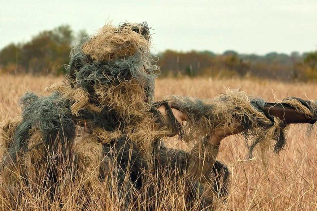Red Rock Ghillie Suit From Drop