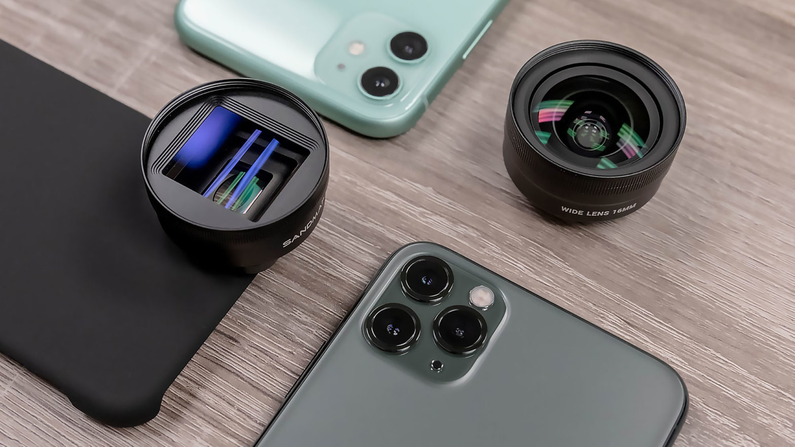 SANDMARC Lenses for iPhone 11