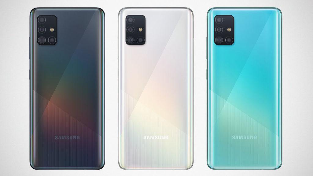 Samsung Galaxy A51 and A71 Smartphones