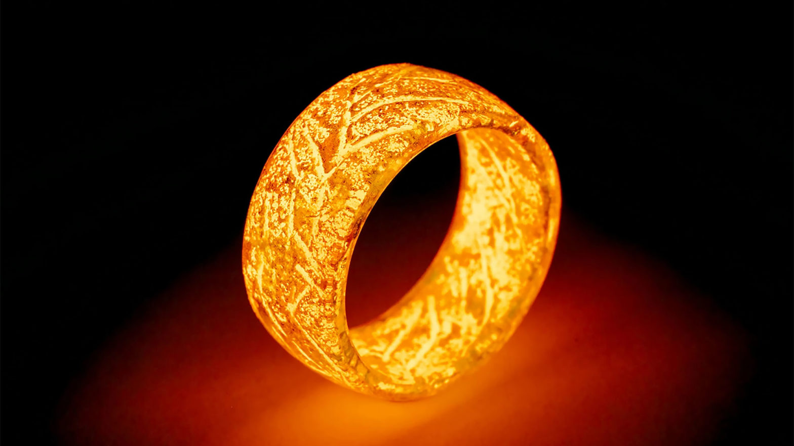 Secret Wood Glo Ring