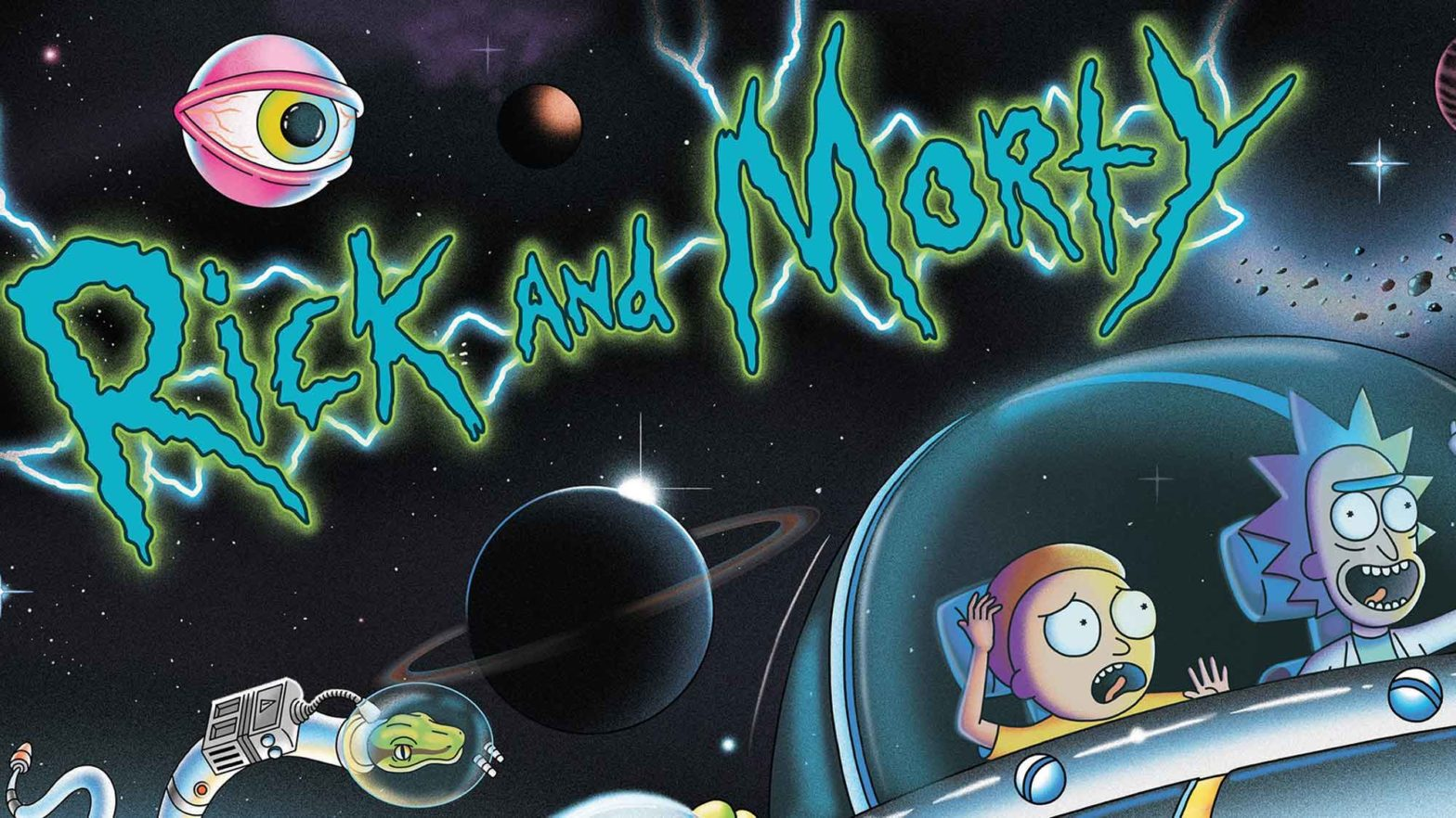Spooky Pinball Rick and Morty Pinball