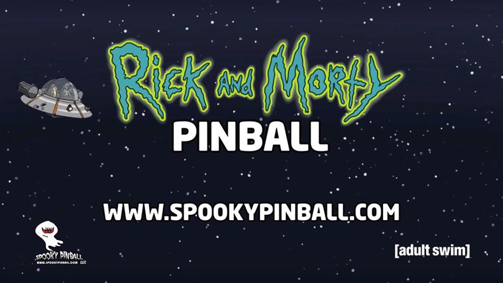 Spooky Pinball Rick and Morty Pinball