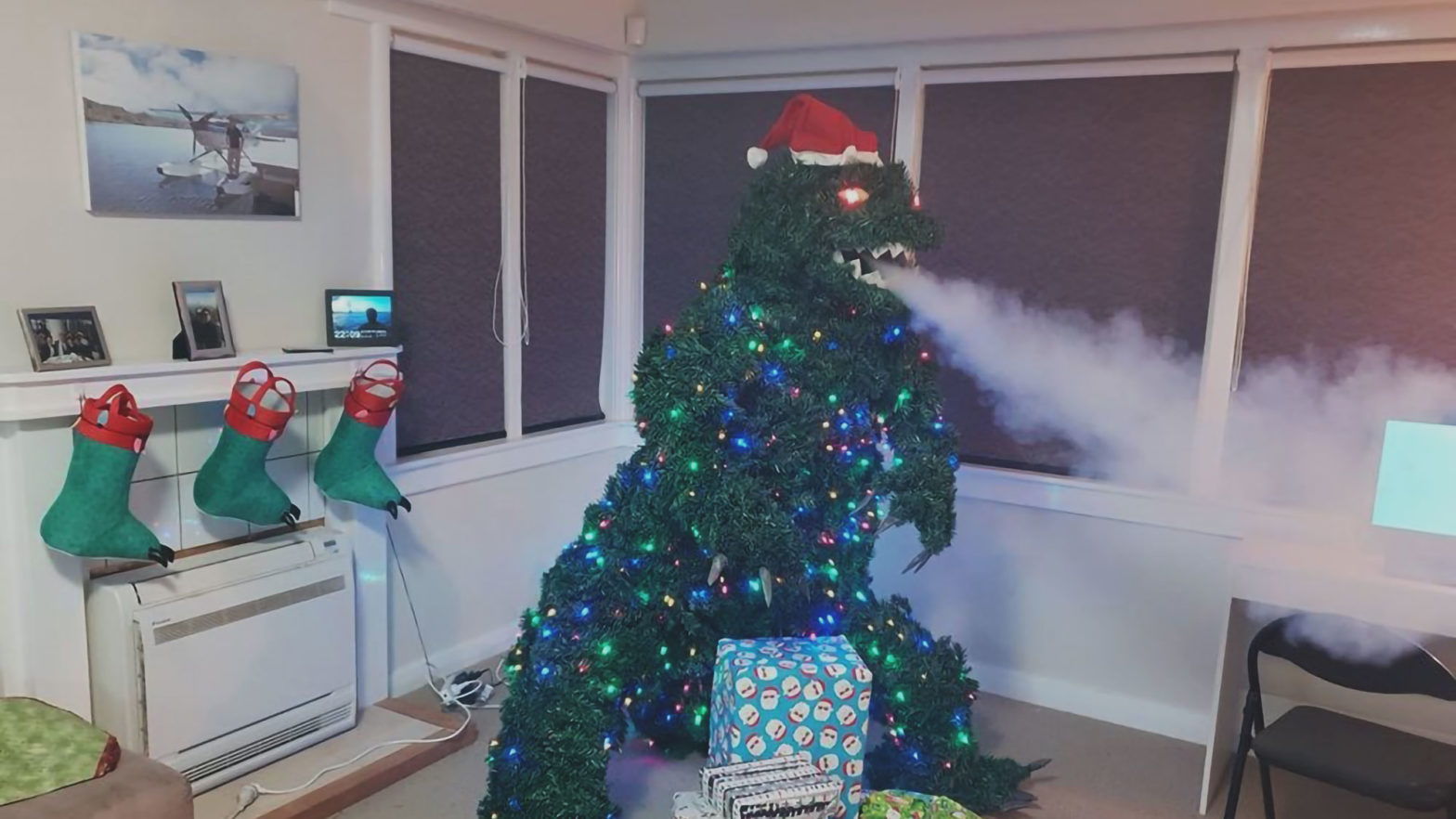 Treezilla The Godzilla Christmas Tree