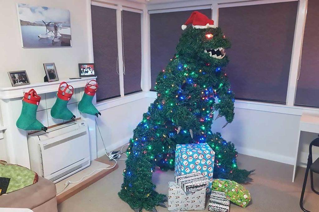 Treezilla The Godzilla Christmas Tree