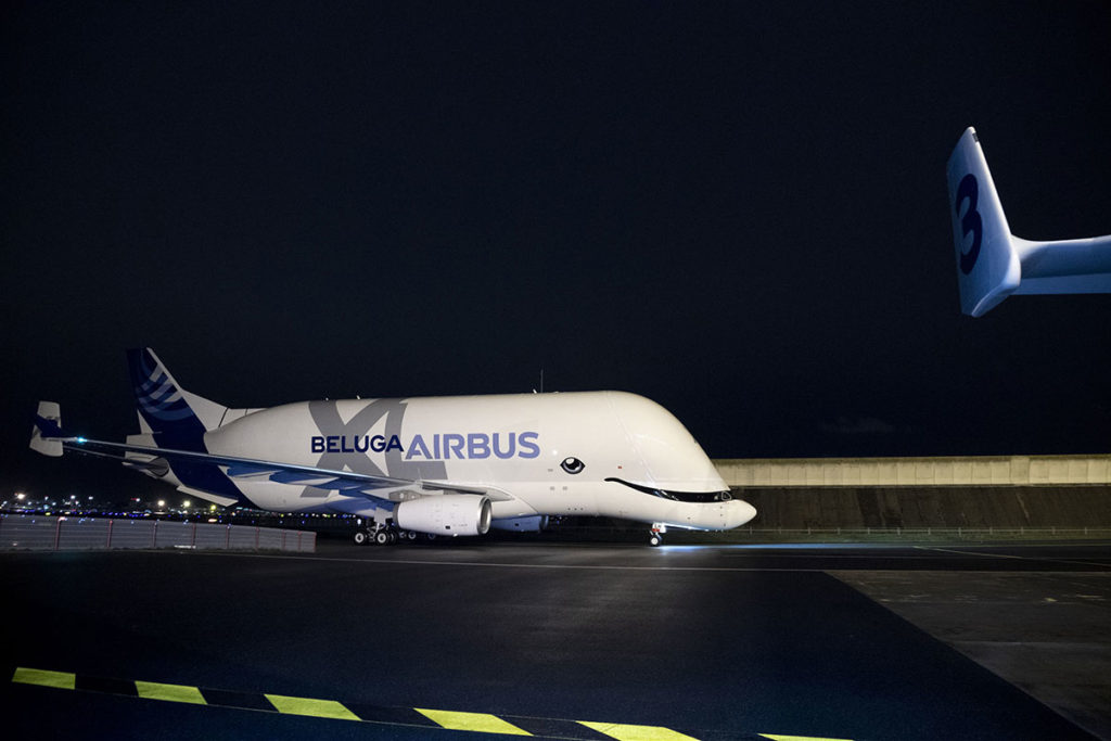 Airbus BelugaXL Transport Aircraft