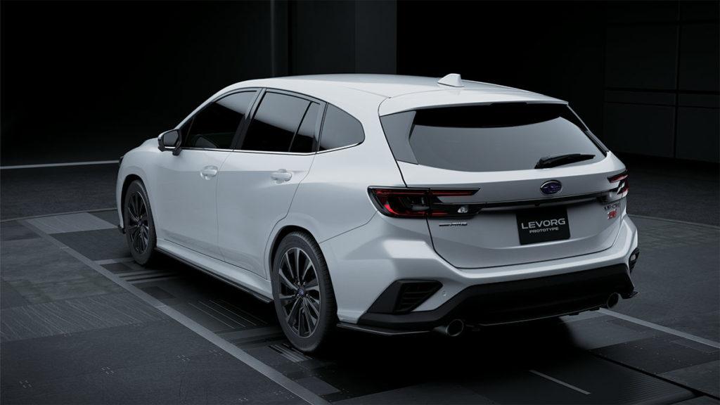 All-new Subaru Levorg Prototype STI Sport Wagon