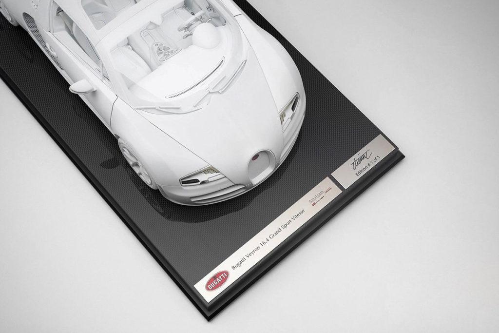 Amalgam 1:8 Scale Bugatti Veyron 16.4 Grand Sport Vitesse