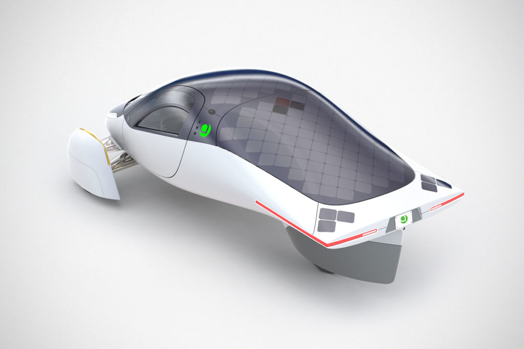 Aptera Never Charge Solar Powered EV