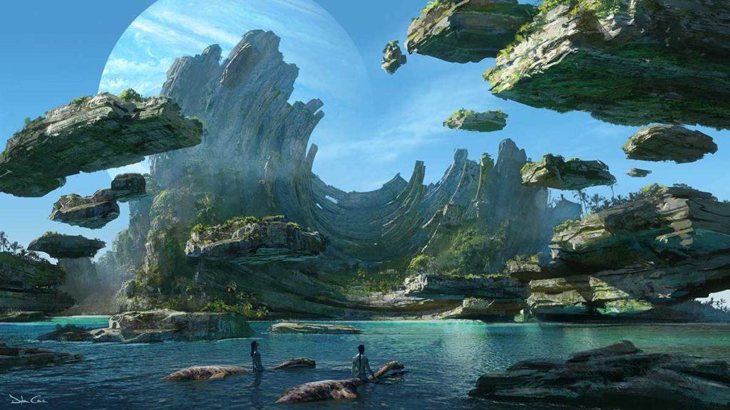 Avatar 2 Concept Art Revealed at CES 2020