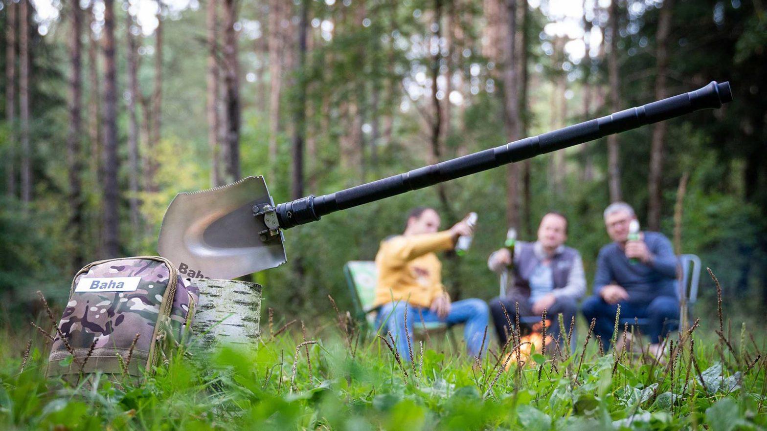 Baha Multi-function Survival Gear Shovel