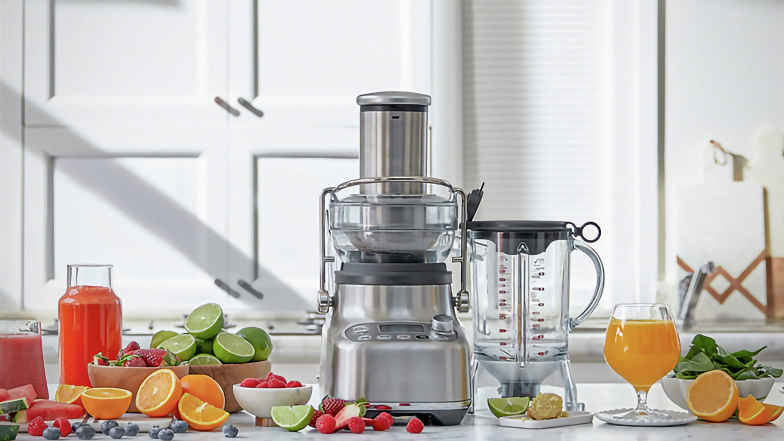 Breville 3X Bluicer Pro Juicer and Blender