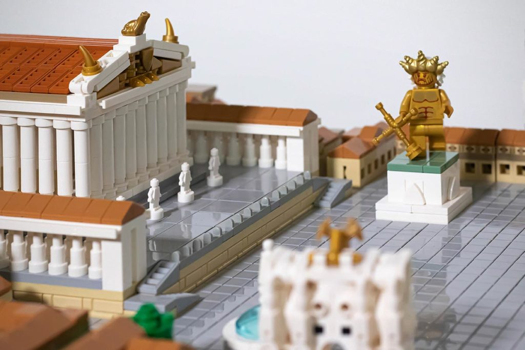 Commission Piece of Imperial Rome in LEGO
