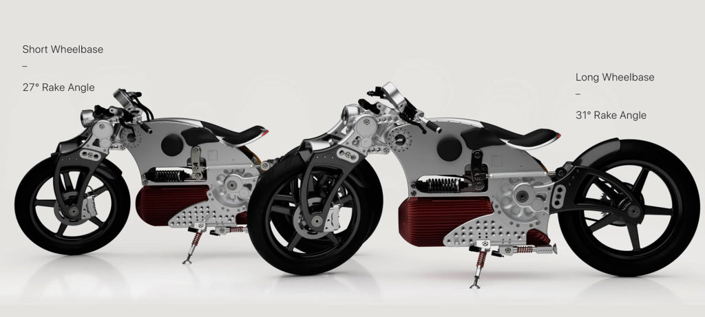 Curtiss Hades Electric Motorcycle Redesigned