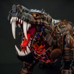 Believe It Or Not, This Sculpture Of A Beast Is Made Entirely Out Of LEGO Elements