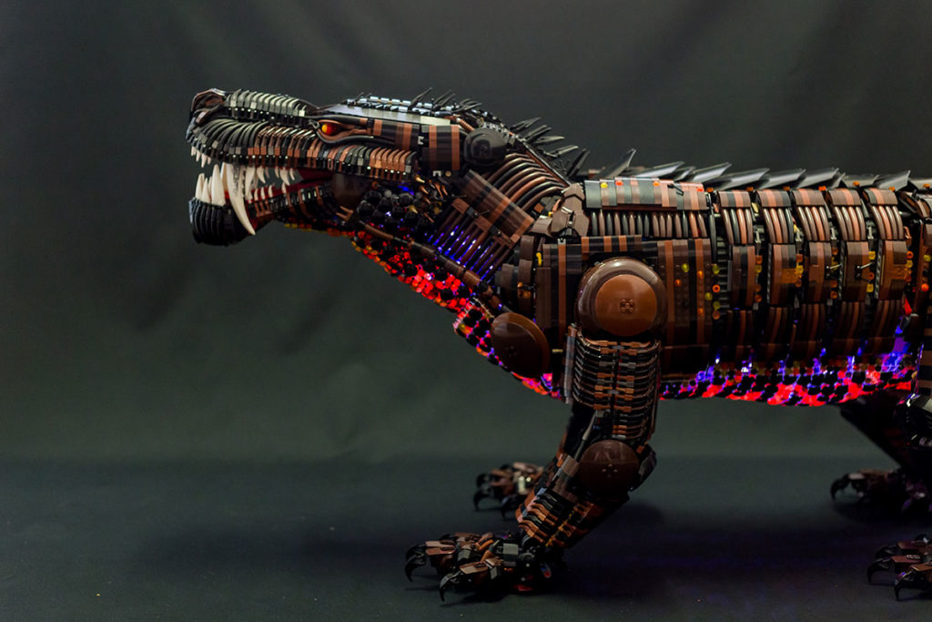 Believe It Or Not, This Sculpture Of A Beast Is Made ...