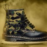 Iconic Silhouette Of Dr. Martens 1460 Reimagined By BAPE For 1460's 60 Years