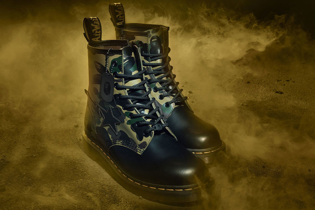Dr. Martens x BAPE 1460 Remastered Boots