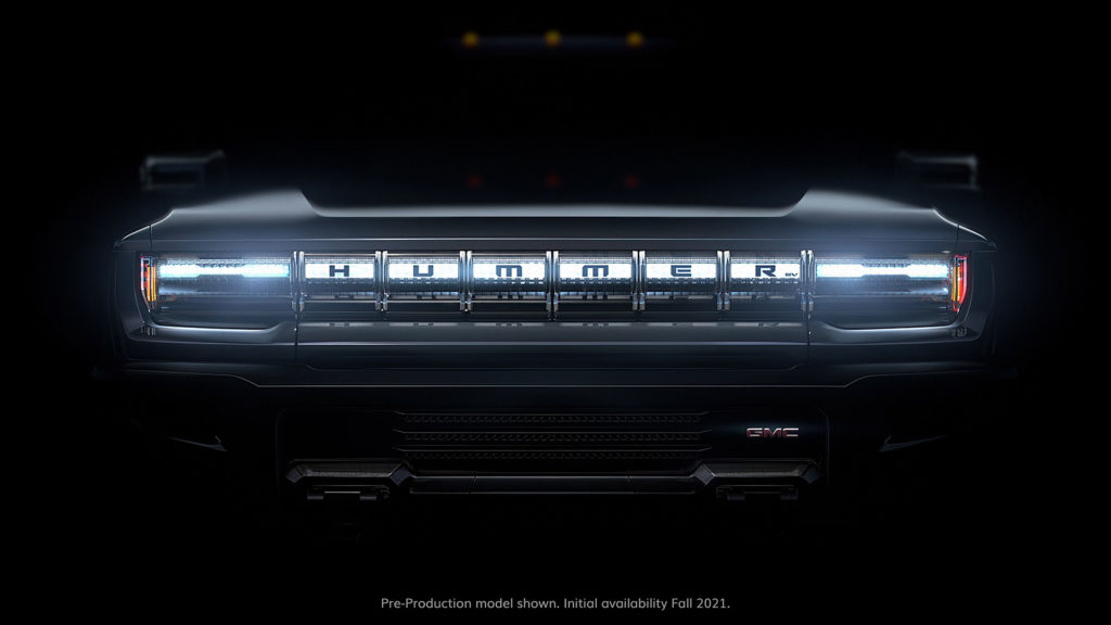 GMC Teases Hummer Electric Vehicle