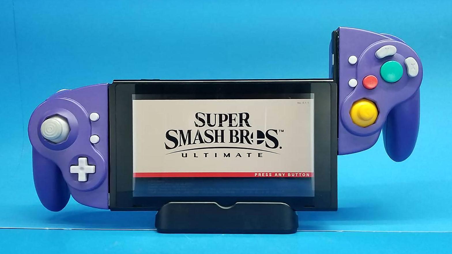 GameCube Joy-Cons Mod For Nintendo Switch
