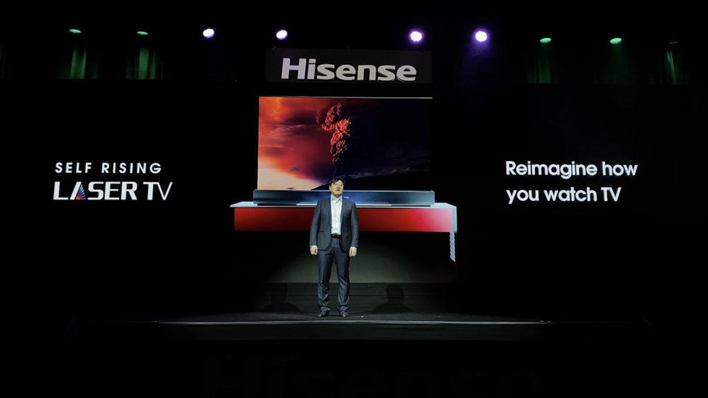 HiSense 70-inch L5 Self-rising Laser TV