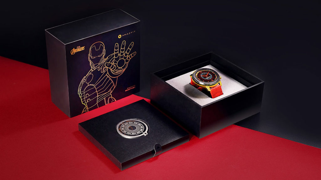 Huami Amazfit GTR Iron Man Edition