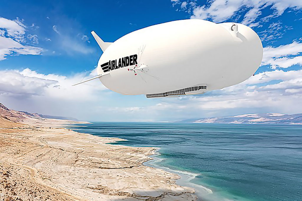 Hybrid Air Vehicles Production Airlander 10