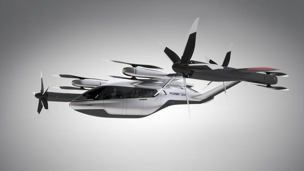 Hyundai Uber S-A1 eVTOL Flying Taxi