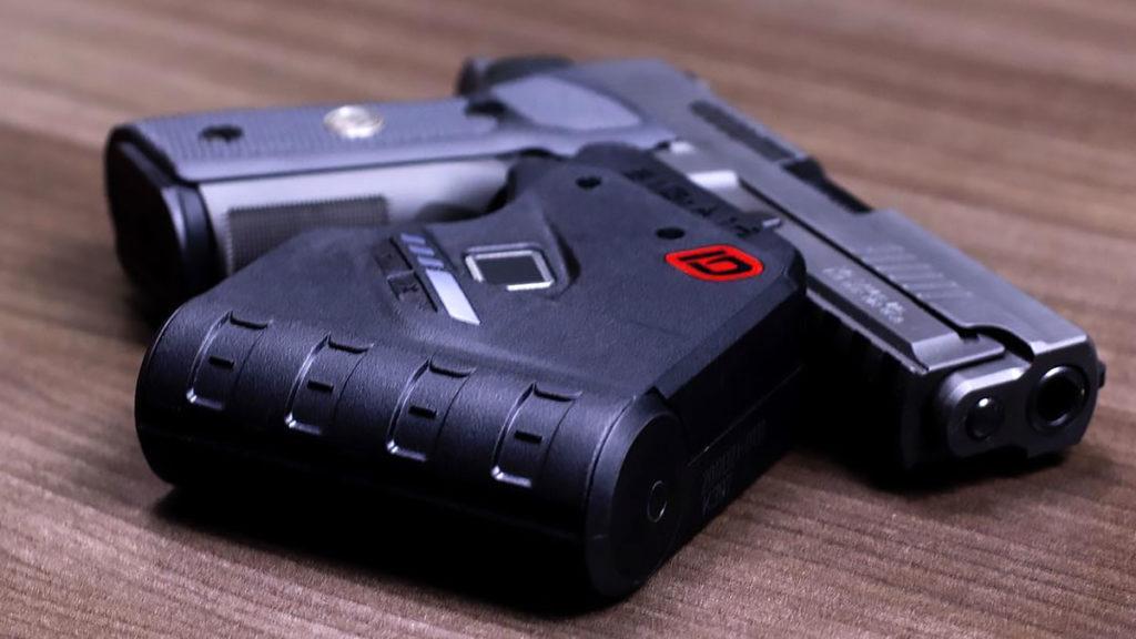 IDENTILOCK Fingerprint Trigger Gun Lock