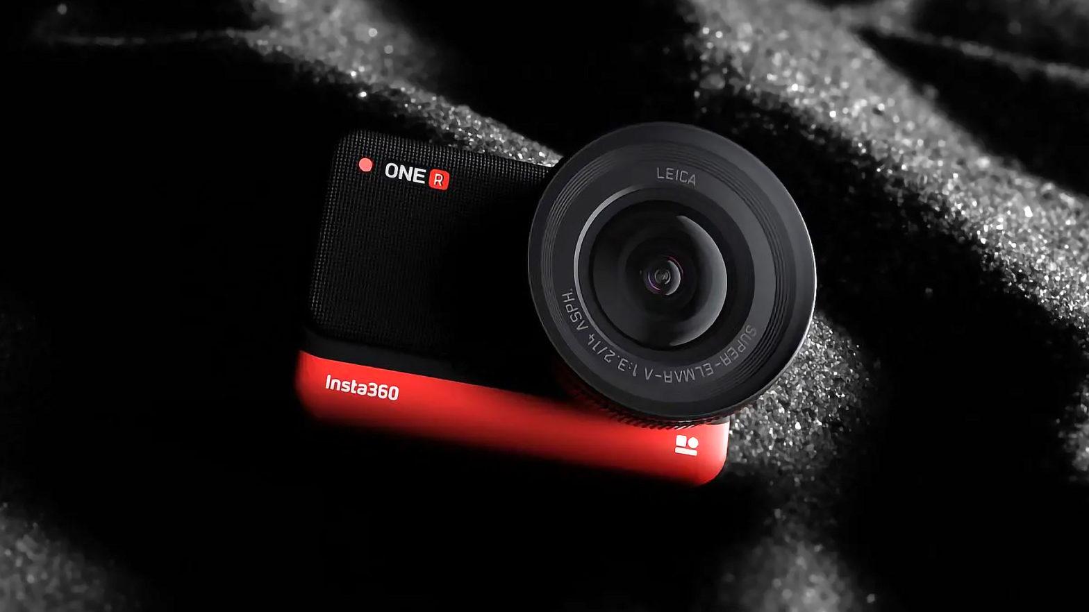 Insta360 ONE R Adaptive Action Camera