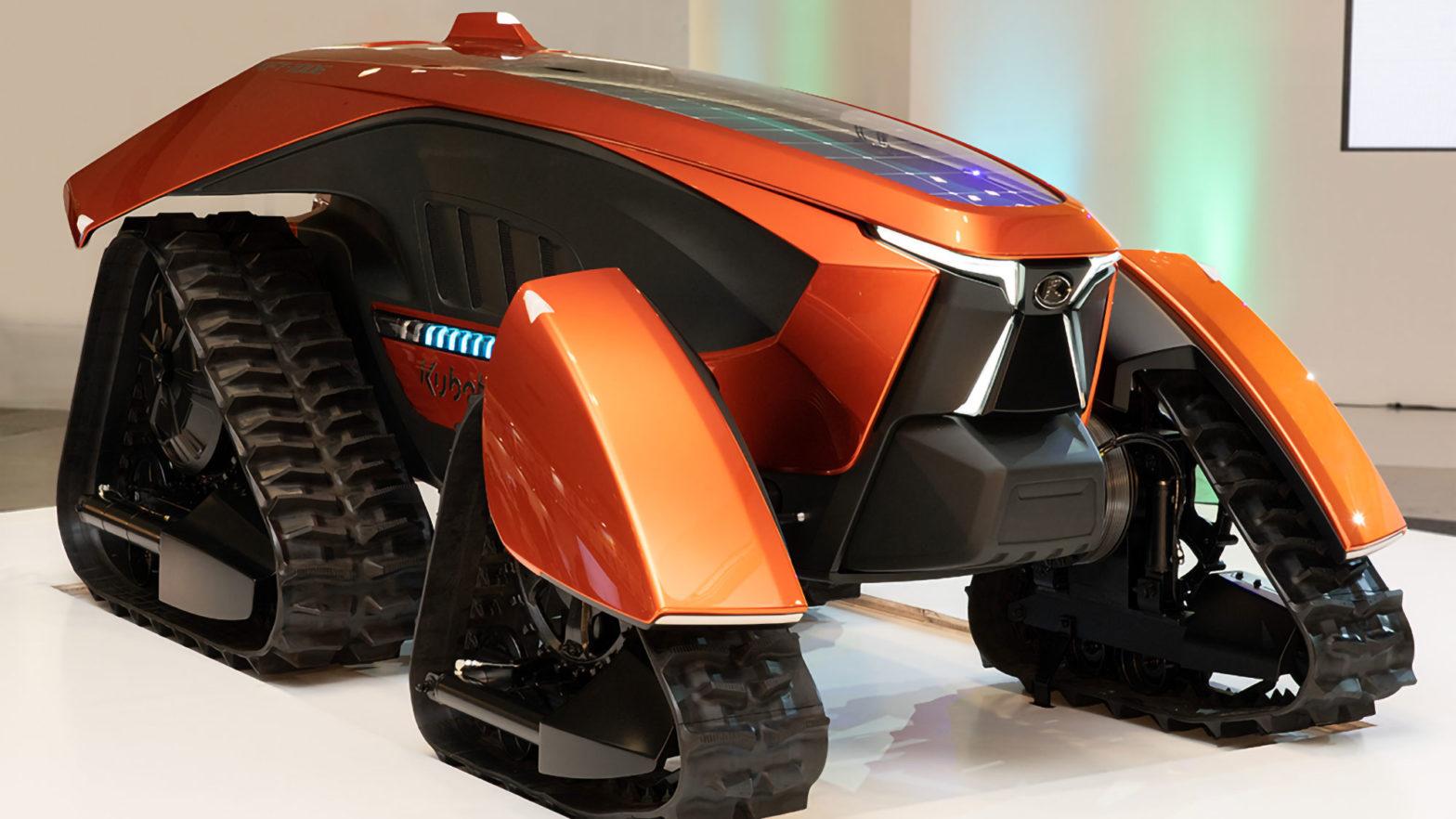Kubota X Tractor Concept Tractor