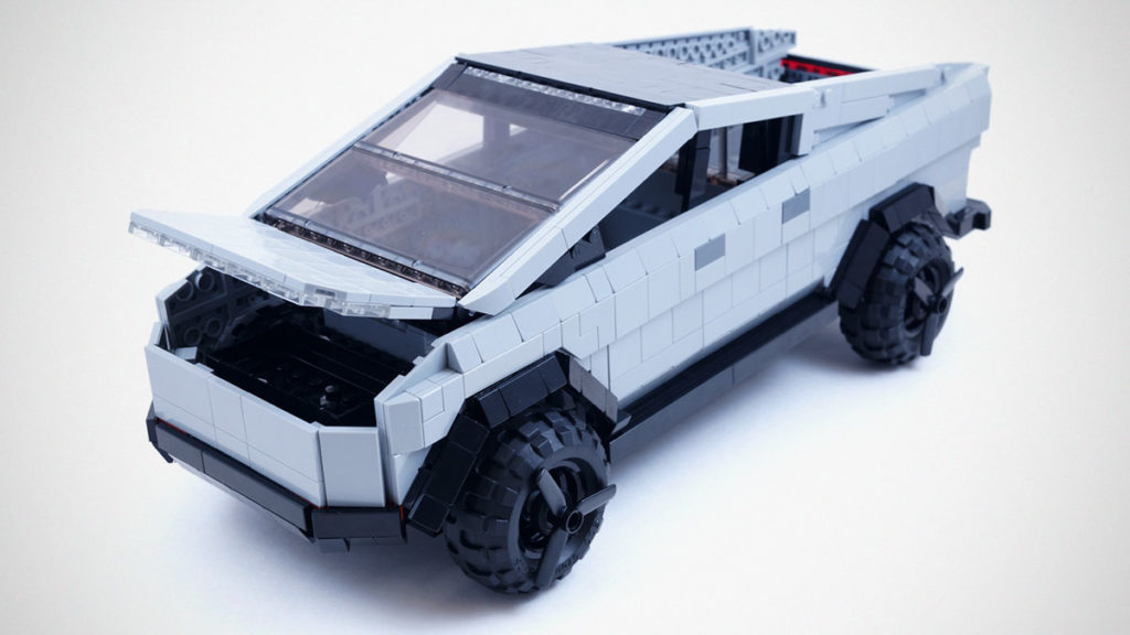 LEGO Ideas Tesla Cybertruck BrickinNick