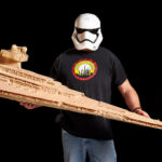 Who Knew That An Imperial Star Destroyer Made Of 15,000 Toothpicks Would Look This Good?