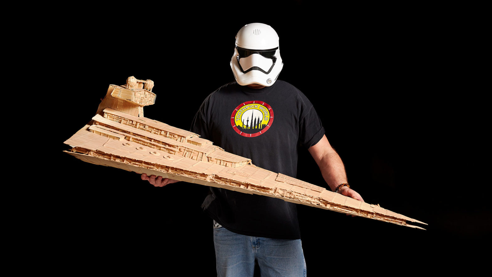 Largest Star Wars Toothpick Sculpture