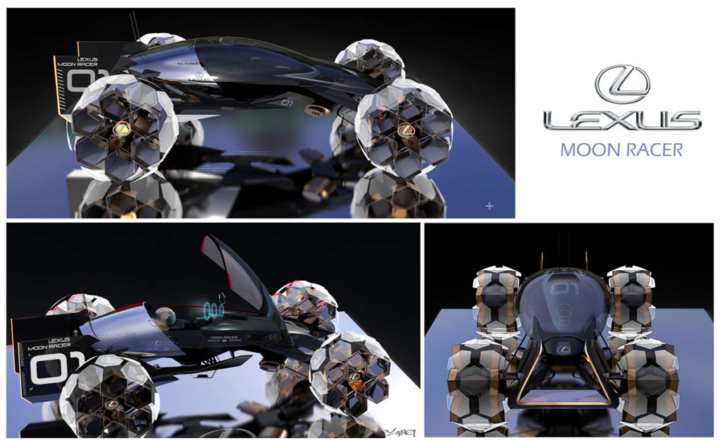 Lexus Moon Racer, Yung Presciutti