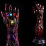 No Fans Of <em>Avengers</em> Should Miss The Life-size Battle Damaged Nano Gauntlet, Except Me
