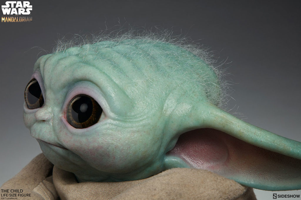 Life-size The Mandalorian Baby Yoda Figure