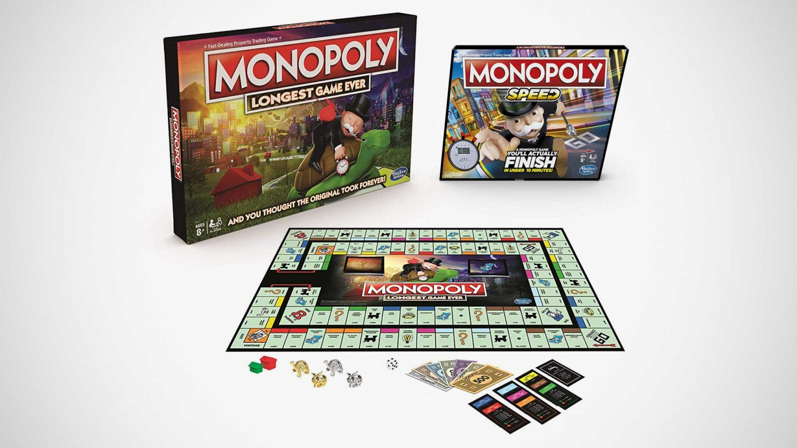 Longest And Fastest Monopoly Edition