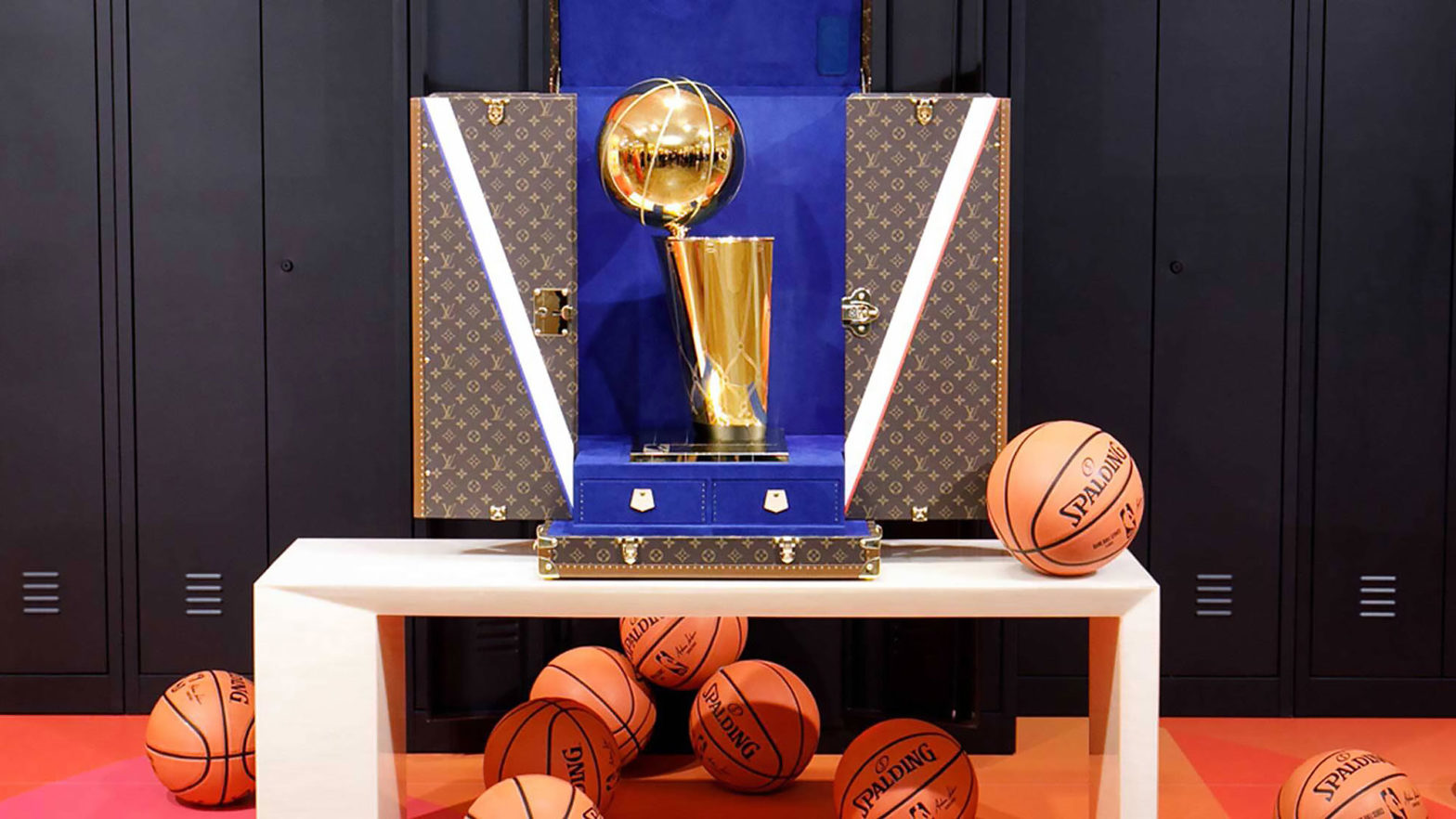 Louis Vuitton x NBA Trophy Travel Case