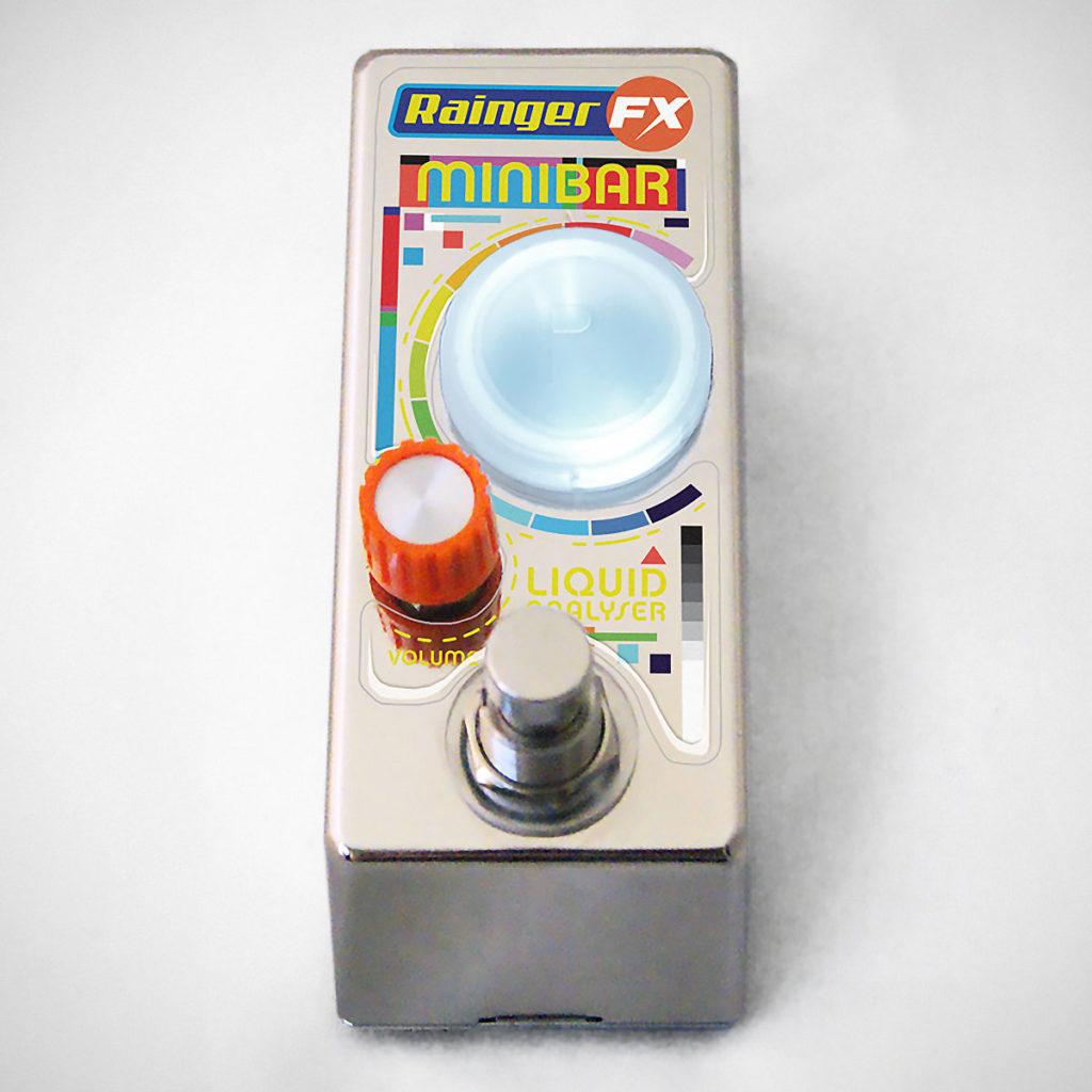 Minibar Liquid Analyser Guitar Pedal