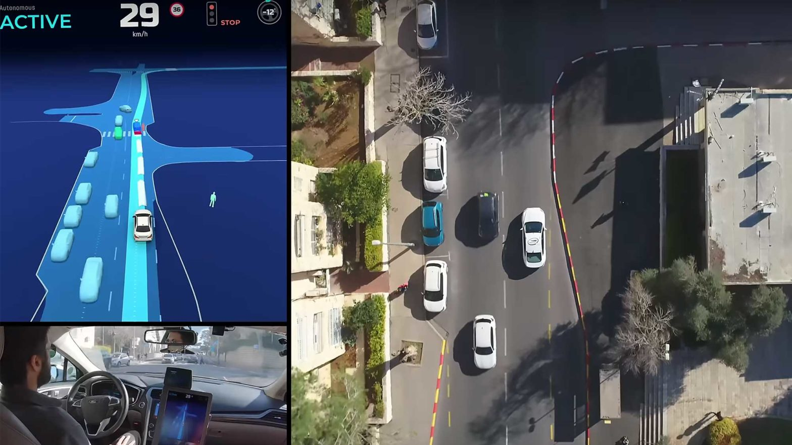 Mobileye Camera-driven Autonomous Vehicle