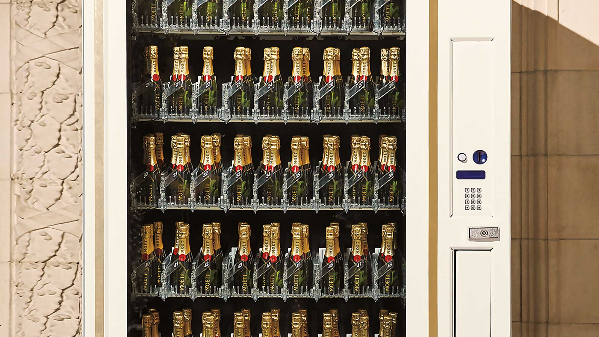 You Can Now Buy A Moët & Chandon Champagne Vending Machine ...